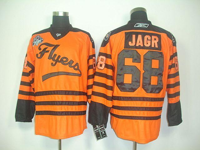 634d55620 Philadelphia Flyers 68 Jaromir JAGR 2012 Winter Classic Orange Jersey   Philadelphia Flyers Jerseys 031  -  45.00   Cheap Hockey Jerseys