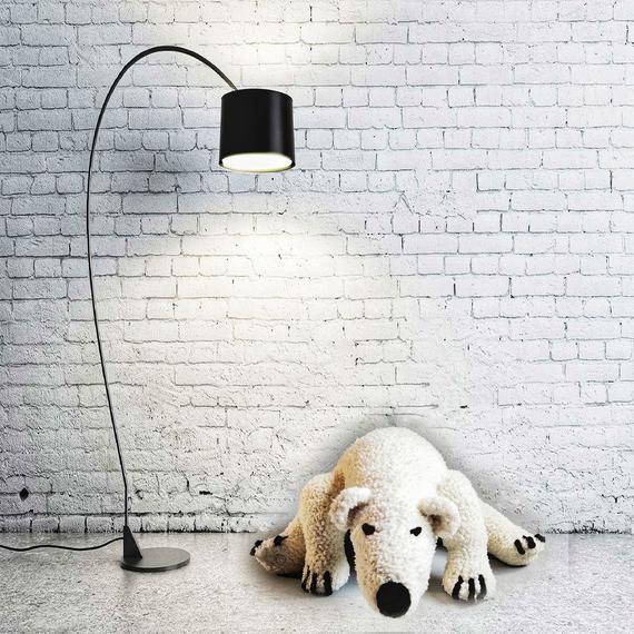 Crochet pattern for the Polar Bear Toy /  Crochet Polar Bear /  Polar Bear Plush Toy #bearplushtoy