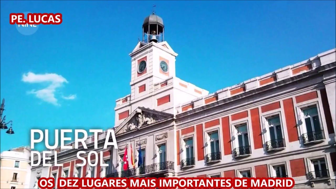 DEZ LUGARES MAIS IMPORTANTES DE MADRI