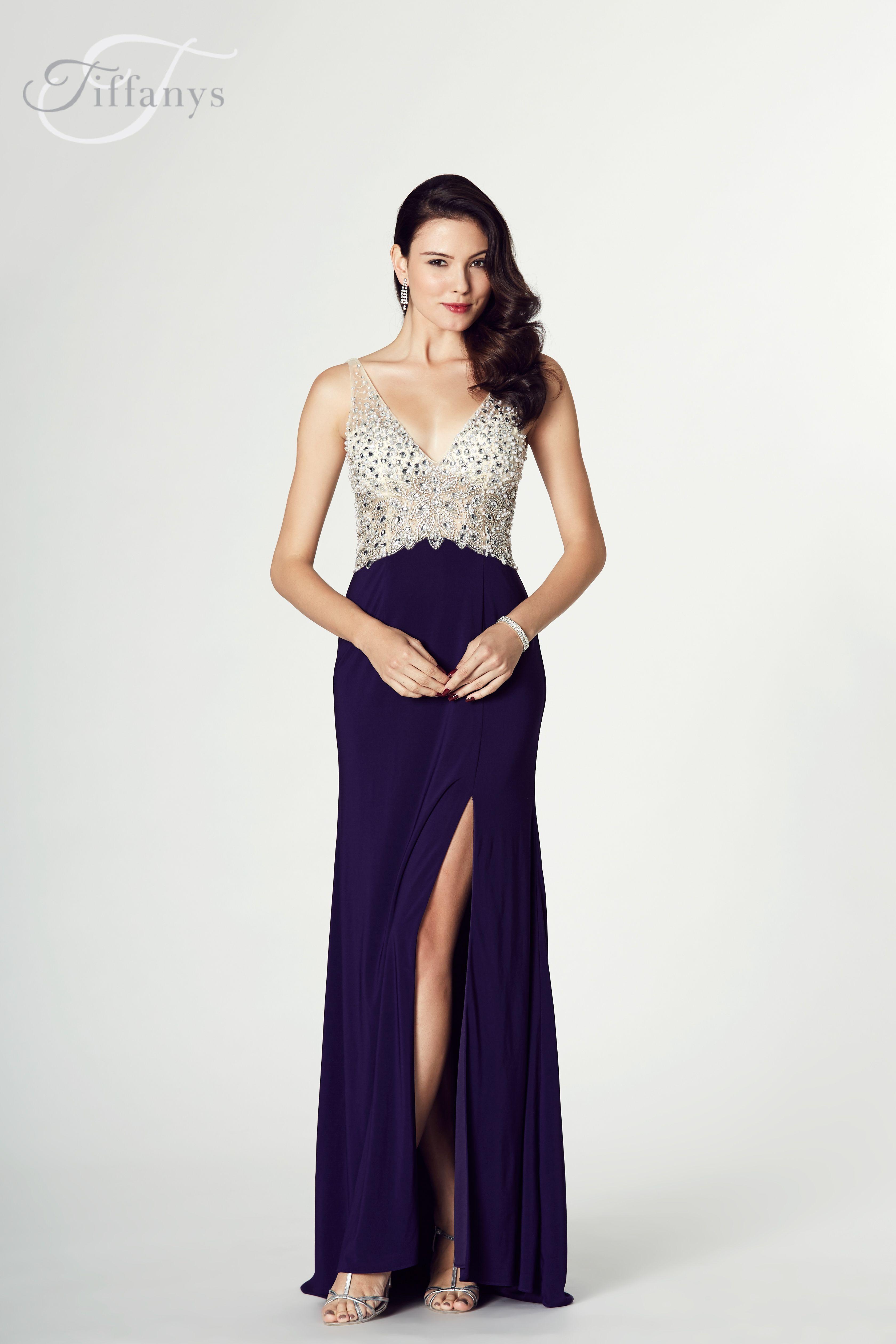 Purple Prom Dresses Long Open Back Half
