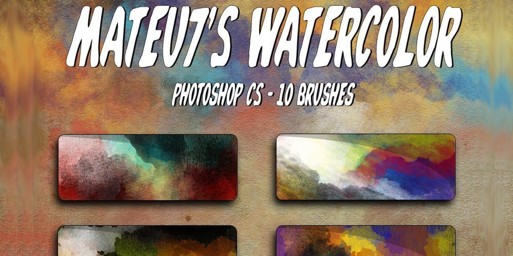 Mateu7s Watercolor Brushes Watercolor