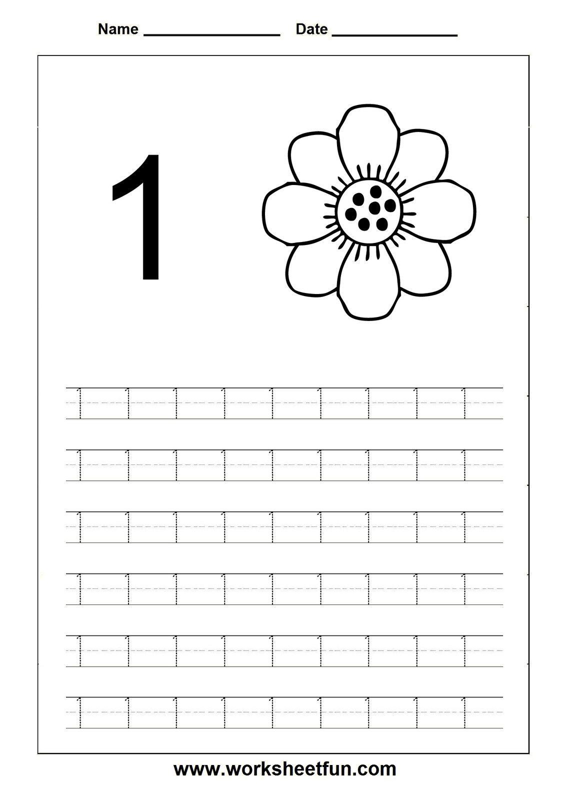6 Comparing Numbers 1 10 Worksheet Printable In
