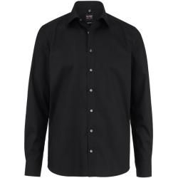 Photo of Olymp Level Five Shirt, form-fitting, New York Kent, black, 40 olympic
