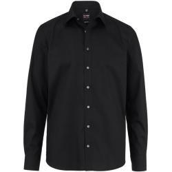 Photo of Olymp Level Five Shirt, form-fitting, New York Kent, black, 39 olympymp