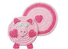 piggy potholder