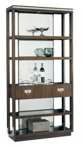 La16355 01 Walker Bookcase W 39 D 14 H 79 Lillian August Fine