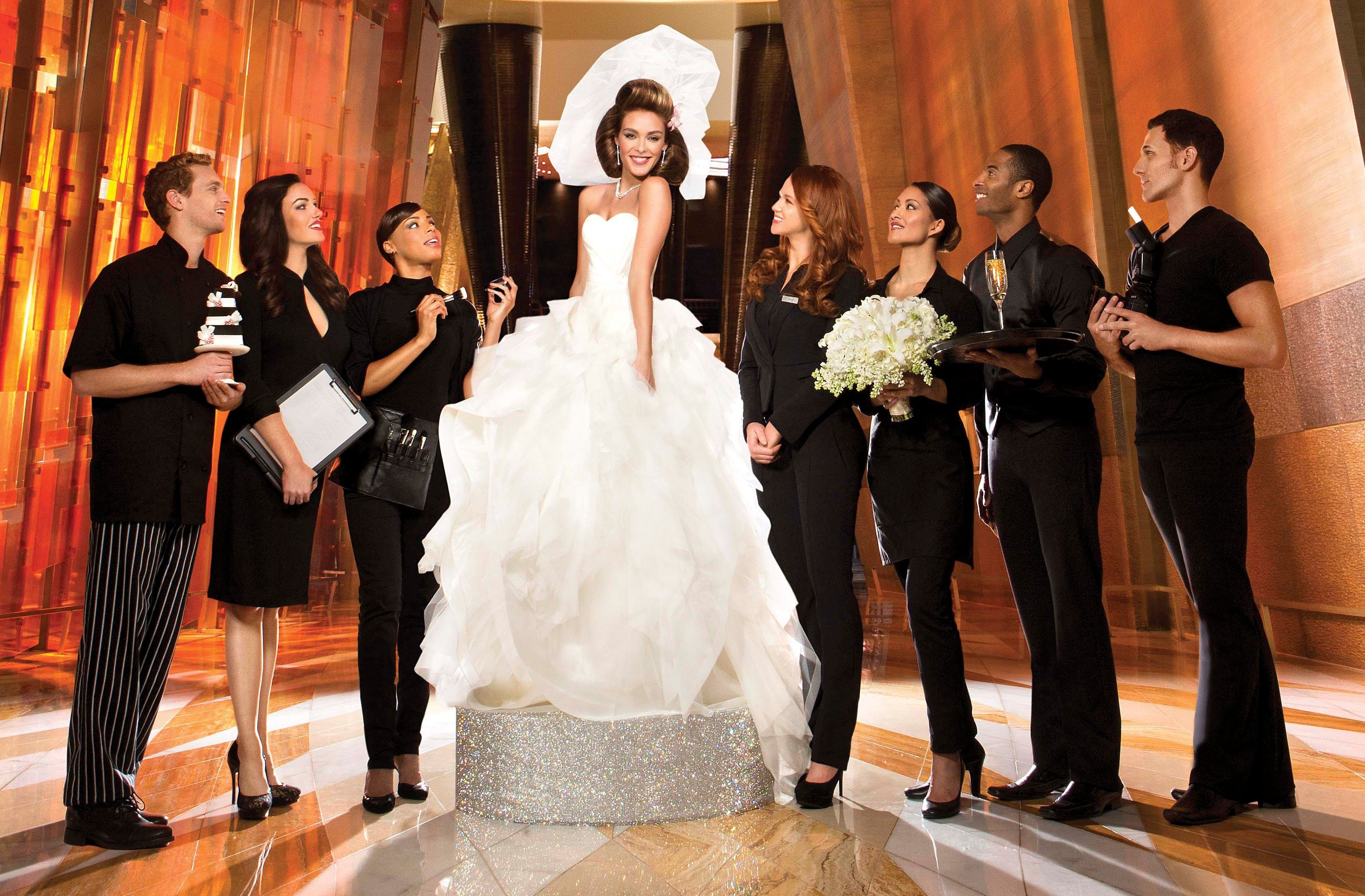 Las Vegas Weddings Aria