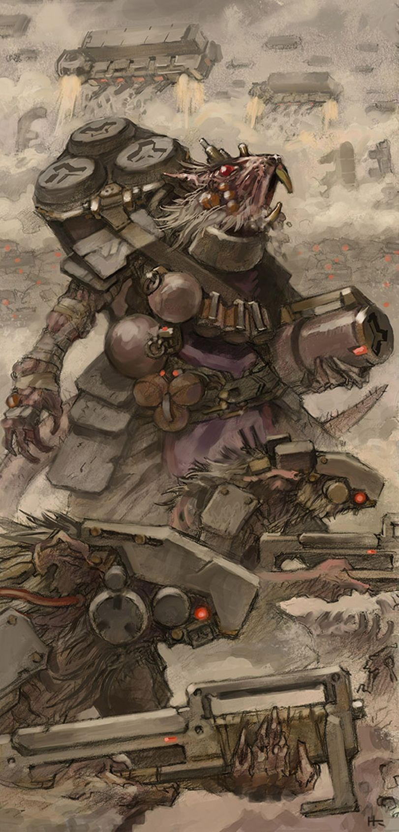 Skaven Warhammer Fantasy Warhammer Fb Fendomy Crossover