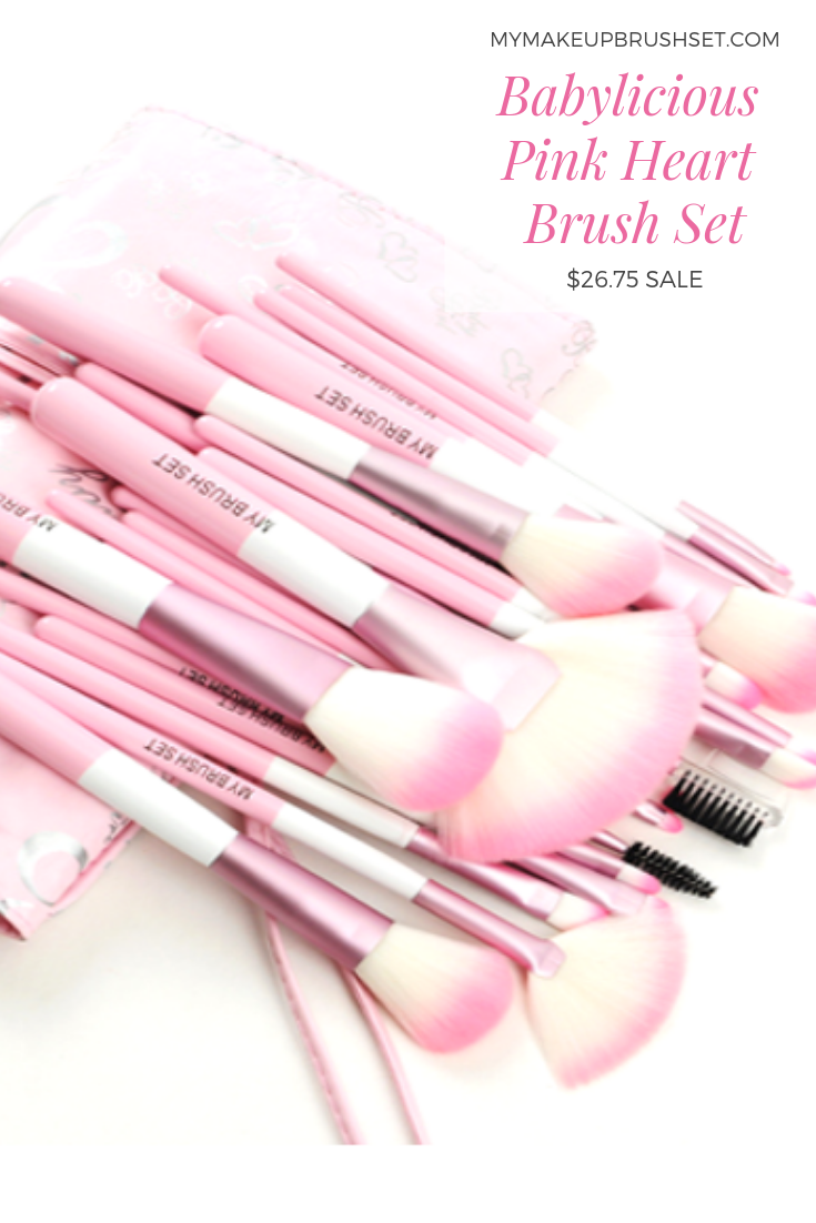15eaaa4a973c 24 Piece Babylicious Pink Brush Set in 2019 | Make up brushes ...