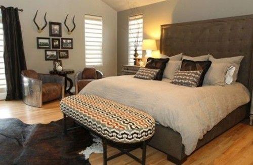 22 Diseños de Dormitorios para Hombres | Diseño de dormitorio para ...