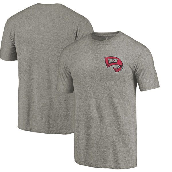 01e49b21829 Buy Men s Fanatics Branded Gray Purdue Boilermakers Primary Logo Left Chest  Distressed Tri-Blend T-Shirt from the Purdue University Official Shop.