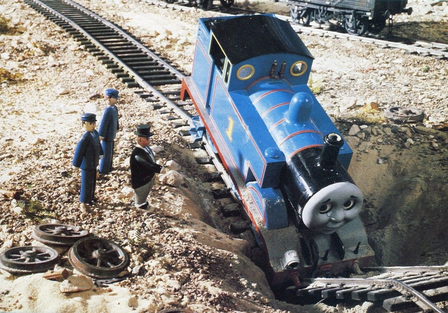 down the mine - Google Search | Thomas The Tank Engine | Pinterest