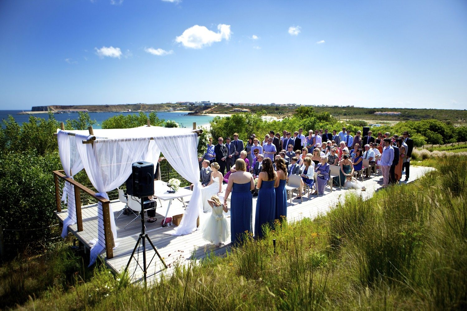 Wedding At Martinhal Beach Resort Hotel In Sagres Algarve Portugal Luxury Family Holidays Hotels And Resorts Portugal Holidays