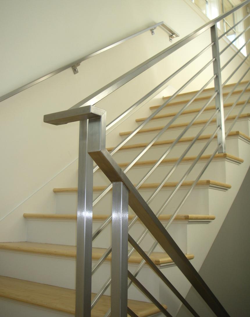 Stainless Steel Balcony Grill Design Railing For Terrace Steel Railing Design