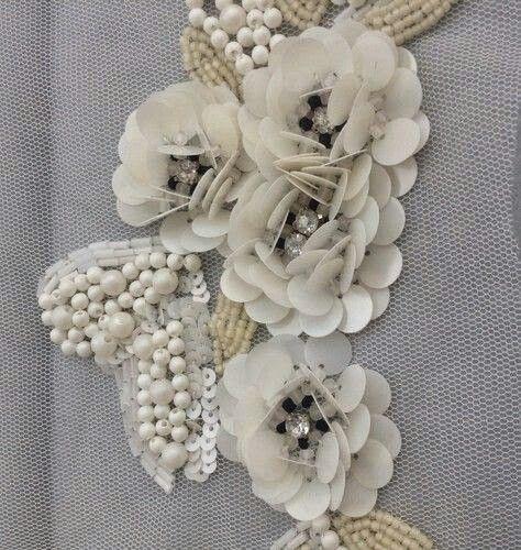 Flores de lentejuelon