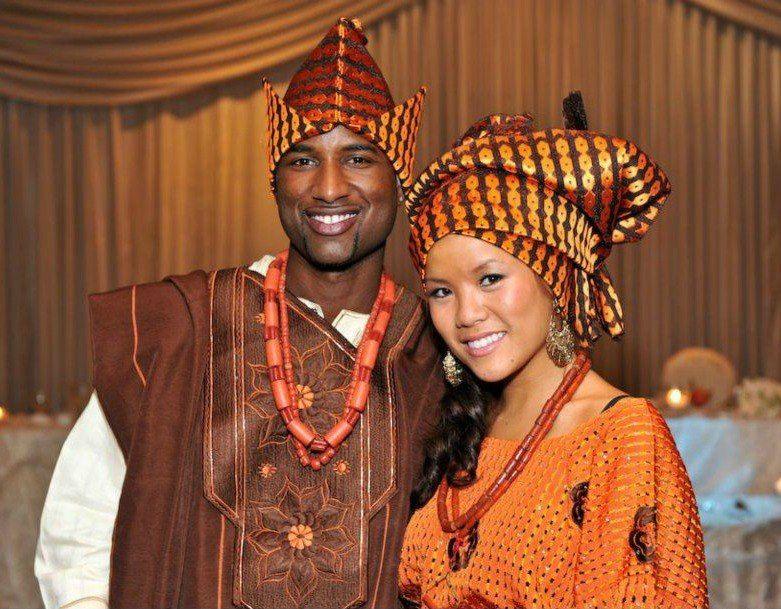 A Nigerian  Chinese Wedding  Too Cute   Nigerian -5042