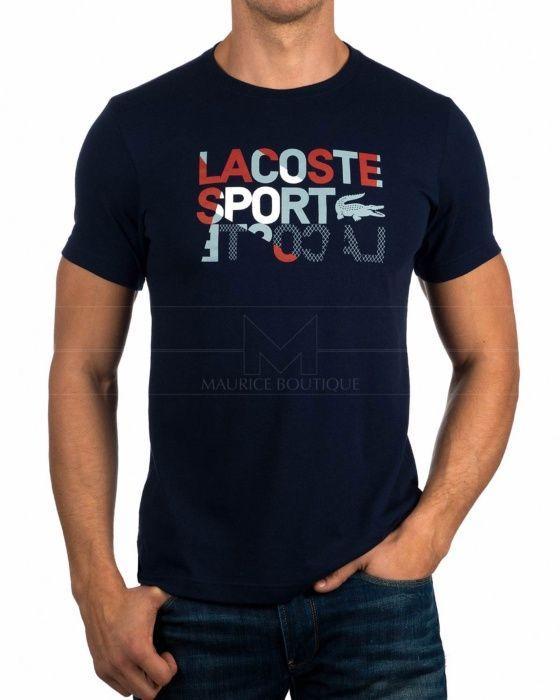 40d64bd8dc3e0 Camisetas Lacoste - Azul Marino