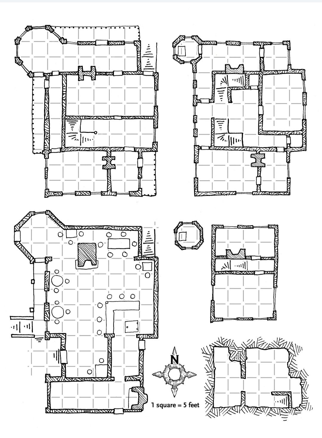 Forgot To Include A Map Of The Trollskull Manor And Tavern