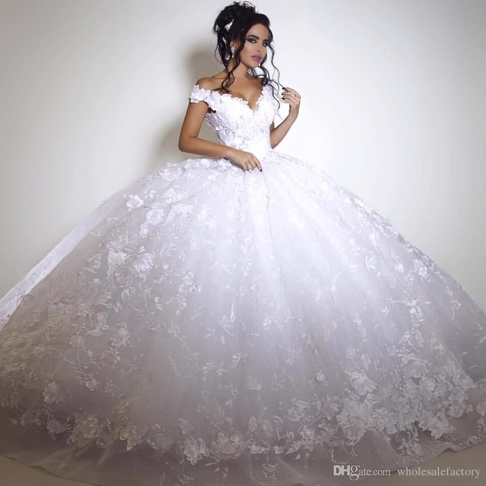 A Line White Tulle Wedding Dress 2017 Arabic Bridal: Pin By Katie Bloodgood On Wedding Dresses
