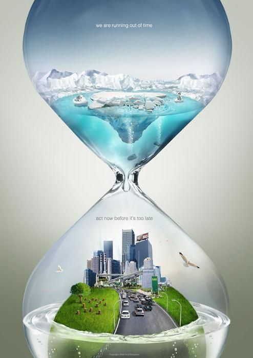 Pro or con global warming efforts...this is a beautifully executed, thought provoking advertisement.