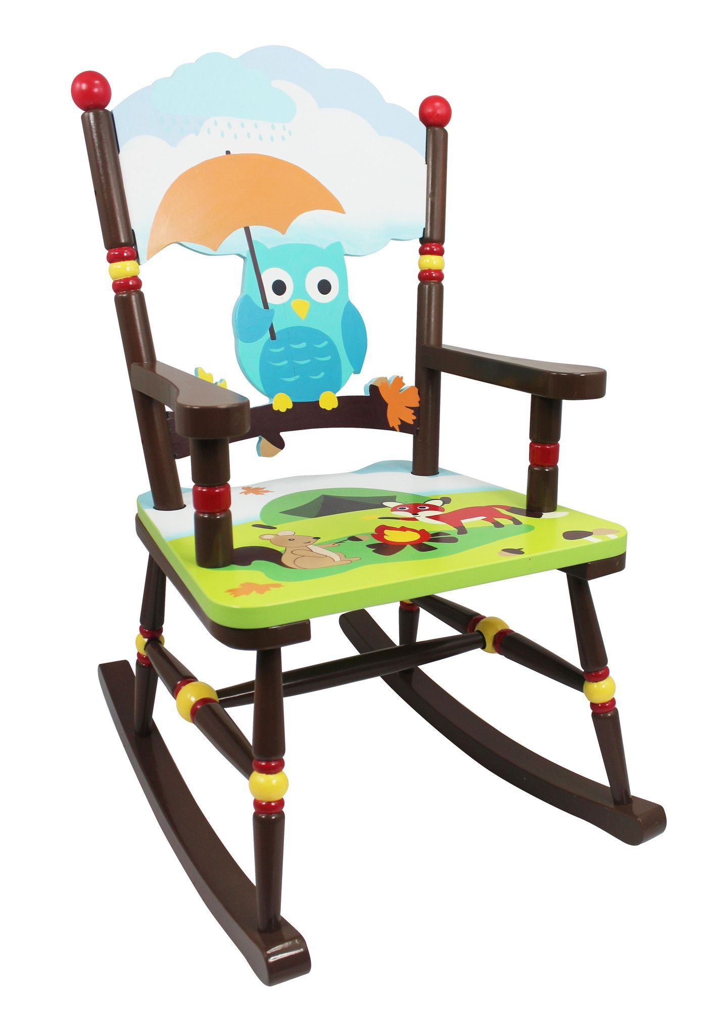 Enchanted Woodland Kids Rocking Chair Kids rocking chair
