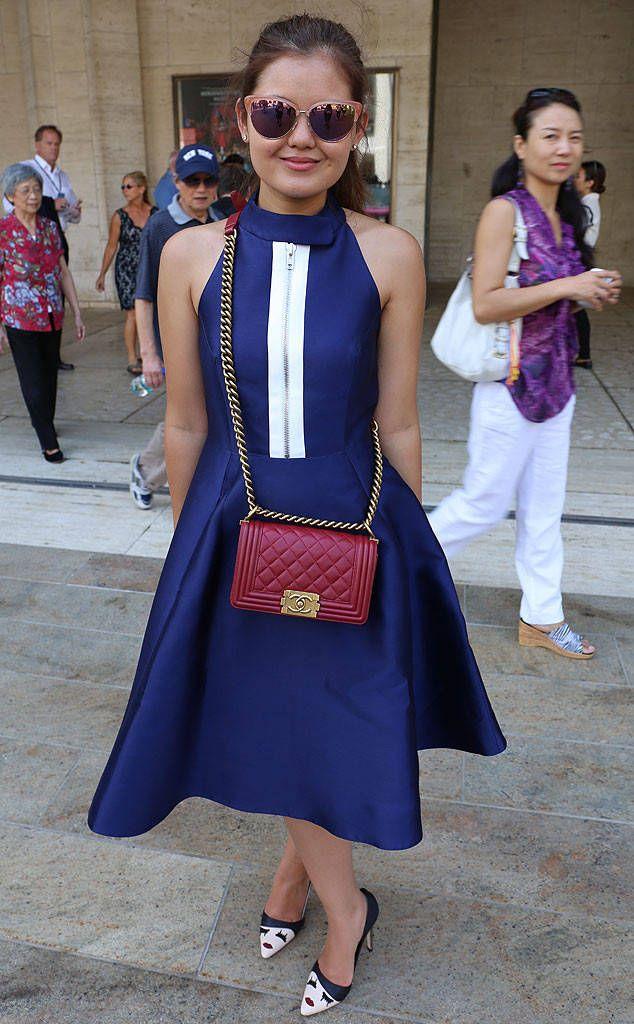 Naya Dem from New York Fashion Week Spring 2015 Street Style
