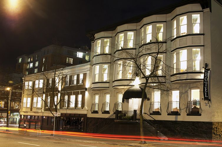 Downtown Hotels Vancouver Hotel Rooms Boutique Victorian