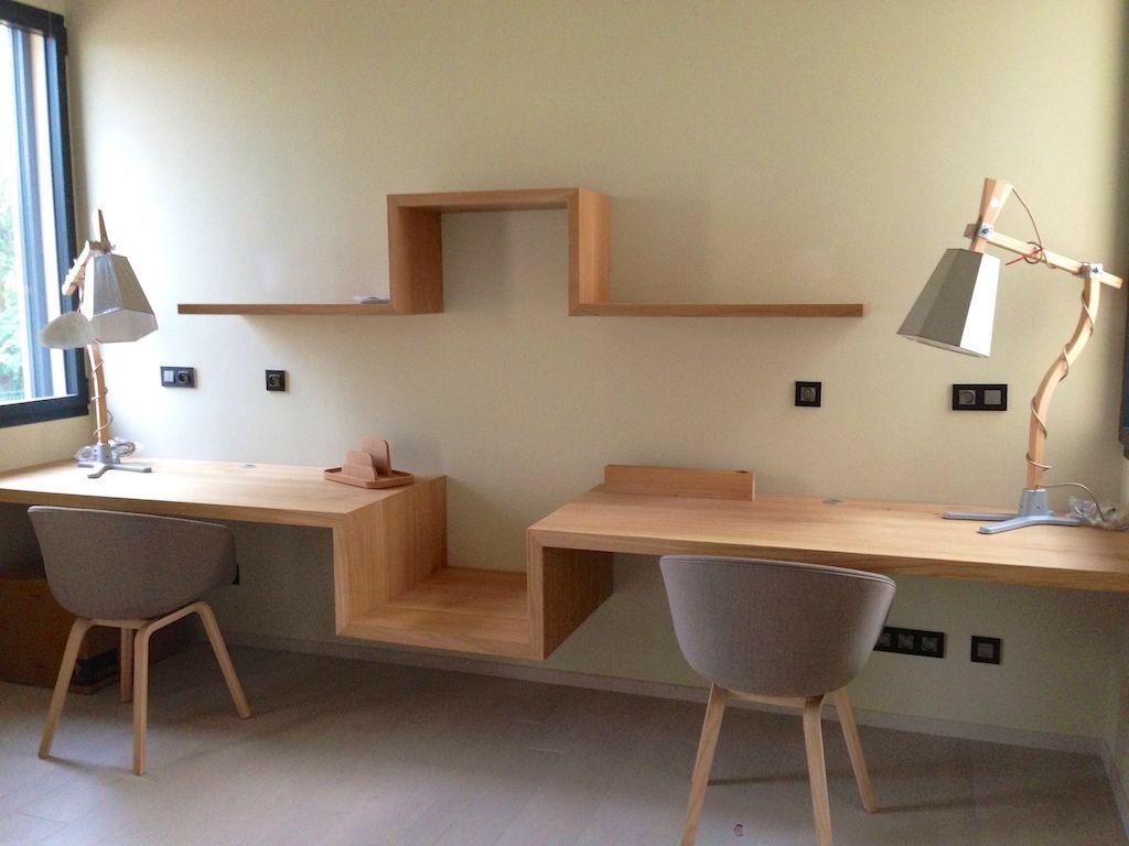 Double bureau maison Pinterest Desks Study rooms and Interiors