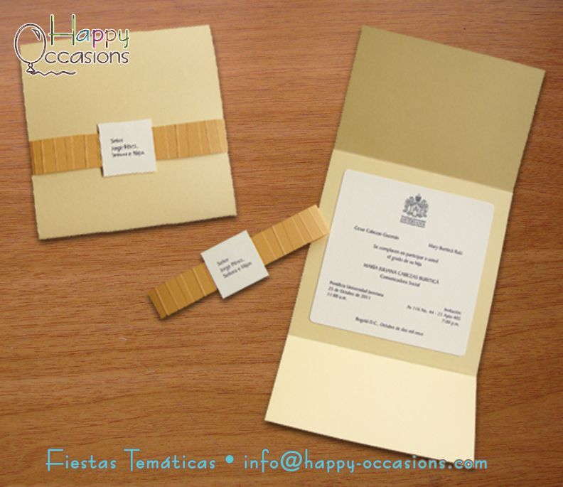 Invitación Grado Cards Invitations Graduation