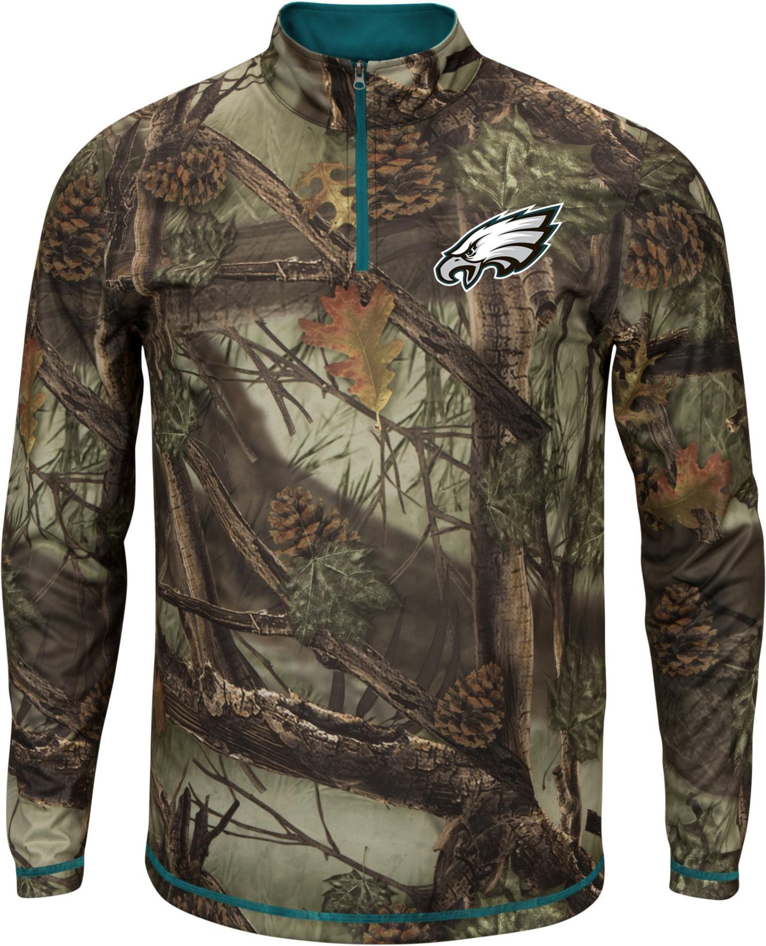 NFL Men s Quarter-Zip Shirt - Philadelphia Eagles  1032d017d
