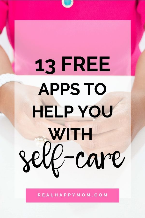 13 Free Apps to Help You With Self Care in 2020 Self care
