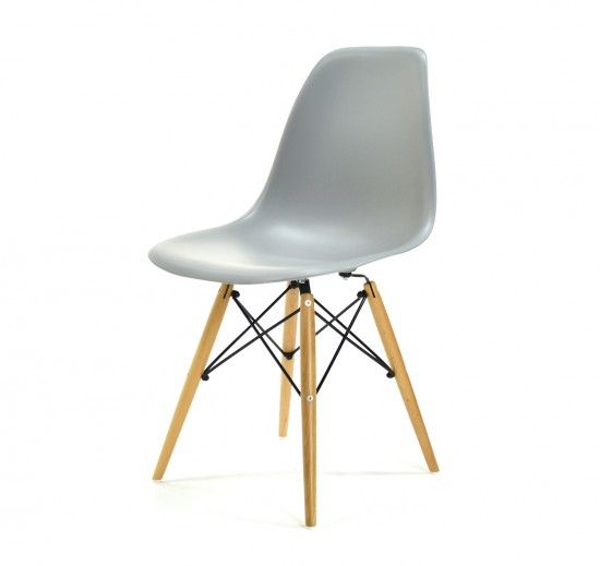 eames dsw grau stuhl m beldesign und esszimmer. Black Bedroom Furniture Sets. Home Design Ideas