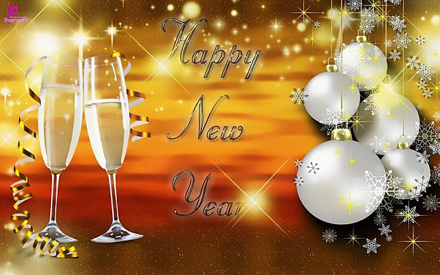 happy new year wishes 2014 and christmas wallpaper with greetings messages