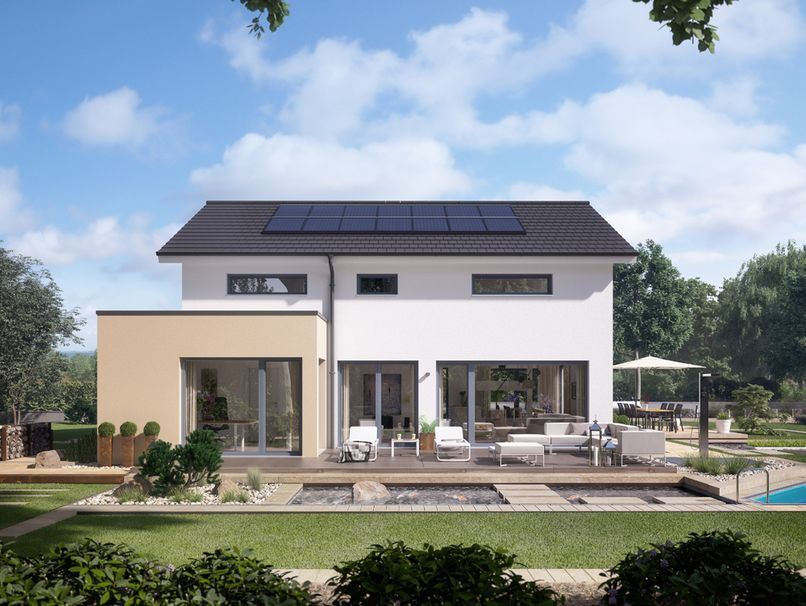 Concept M 155 Musterhaus Leipzig In 2020 Moderne Hausentwurfe Moderne Fertighauser Design Fur Zuhause