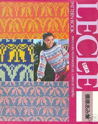 Lecle Pattern Book For Mk 70 Hk 160 Knitting Machines Pinterest