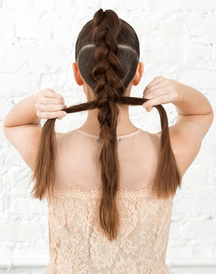 Frisuren Lange Haare Flechten Selber Machen Frisuren Lange Haare