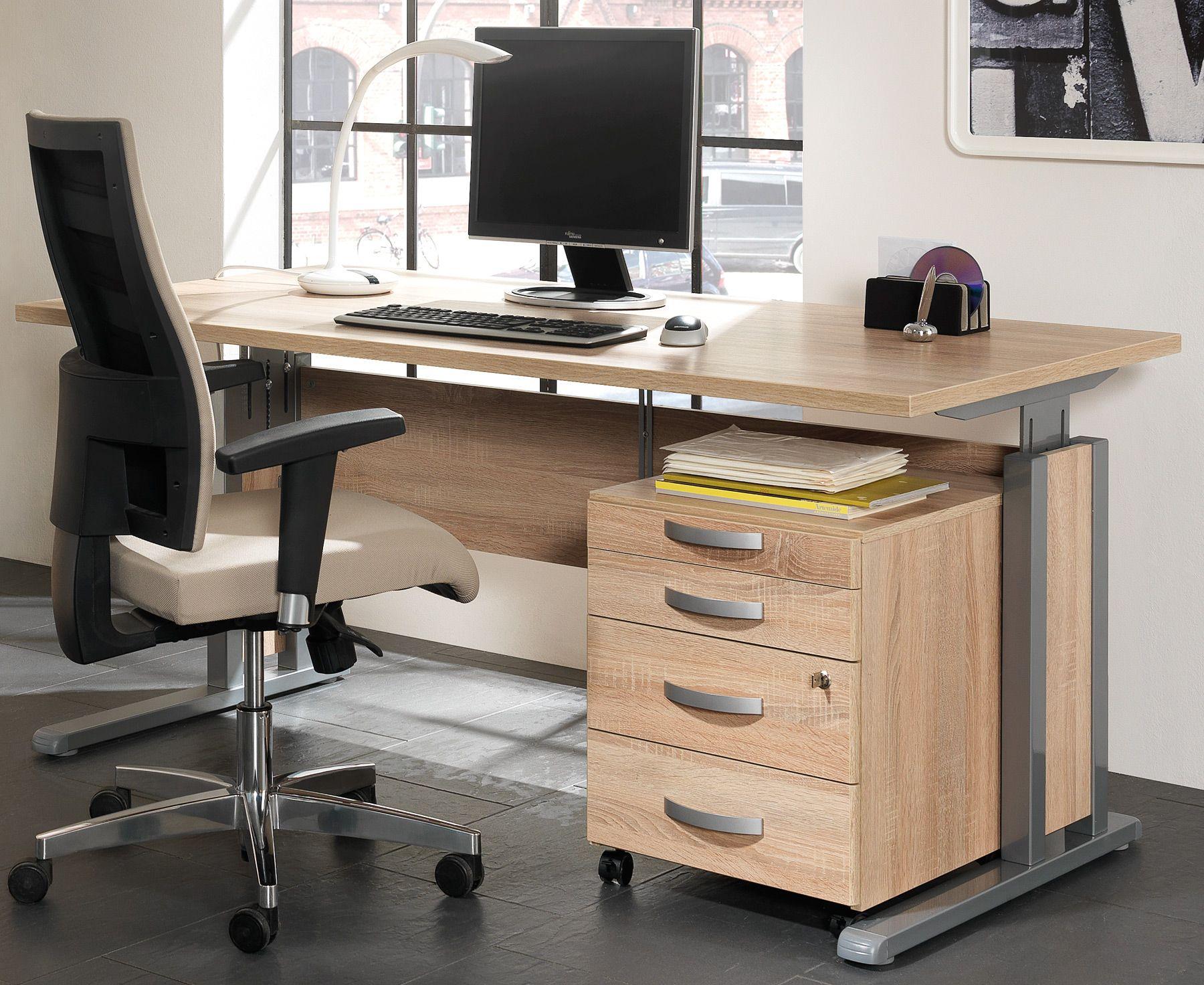 Schreibtisch büro  Nett büro schreibtisch höhenverstellbar | Deutsche Deko ...