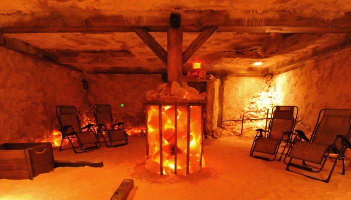 The Incredible Salt Cave In Florida That Completely Relaxes You Salt Cave Salt Room Himalayan Salt Room