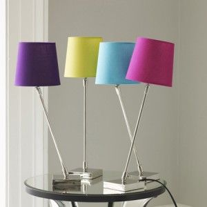 Graham And Green Colourful Slant Lamps Fresh Design Blog Contemporary Table Lamps Bedside Table Lamps Table Lamps Uk
