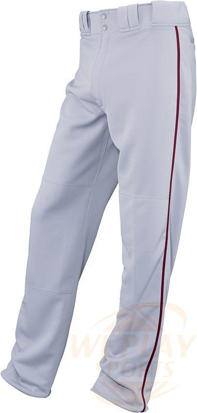 Easton Reg Rival Youth Baseball Pant W Piping Custom Order Baseball Pants Youth Baseball Baseball