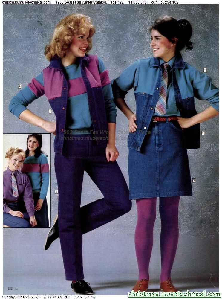 1983 Sears Fall Winter Catalog, Page 122 - Christm