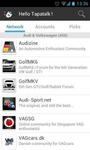 Tapatalk Forum App v2 4 2 apk Requirements: Android OS 2 0 +