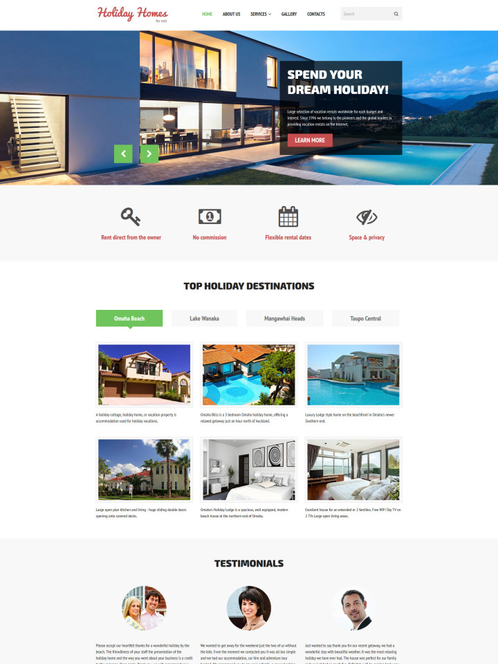 Real Estate Website Templates : Web Design Lead Gen