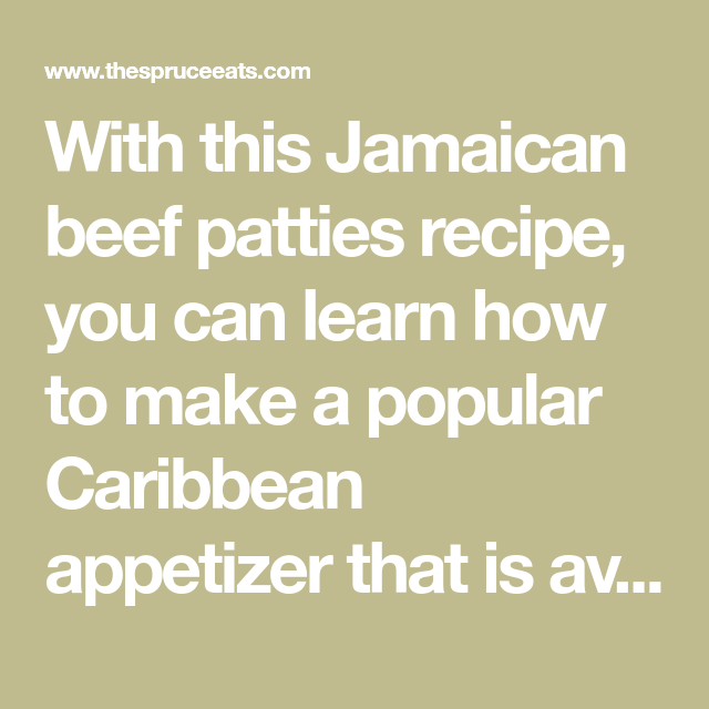 jamaican beef patties  recipe with images  beef patty