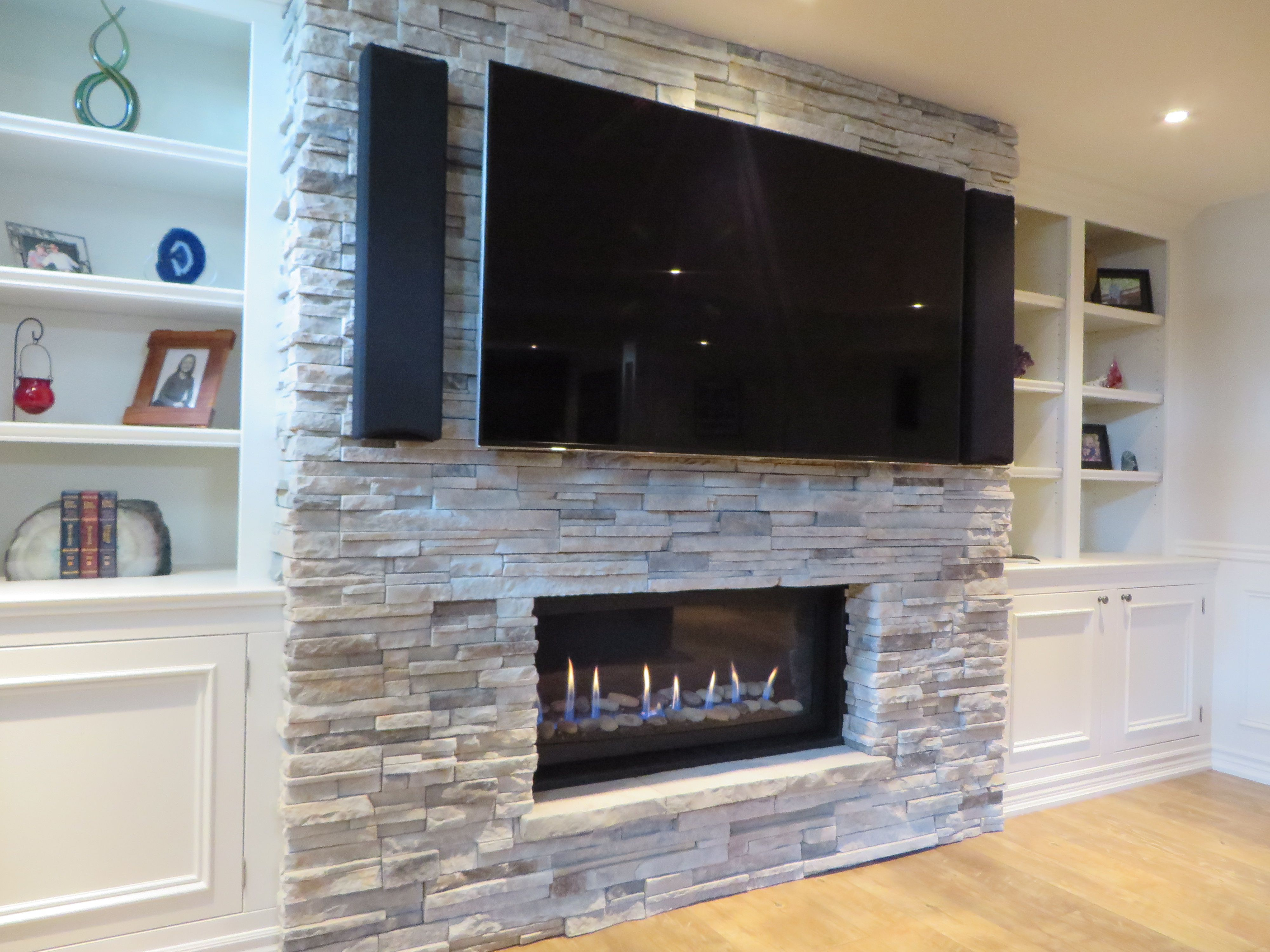 Image Result For Stone Fireplace With Bulkheads Family Room Design Build A Fireplace Family Room