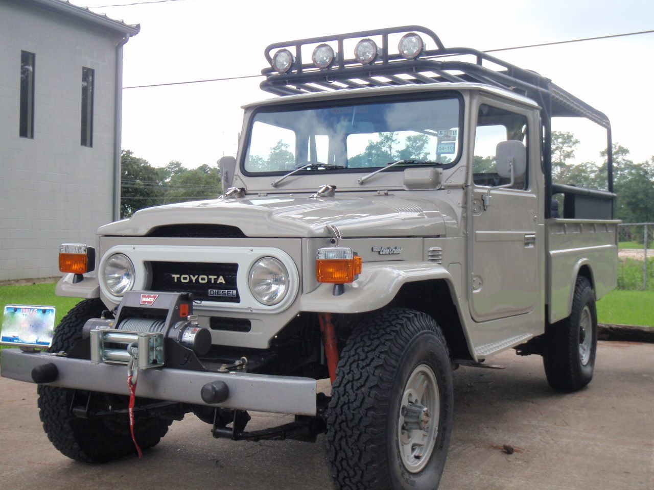 toyota land cruiser hj45 pick up i love toyota land. Black Bedroom Furniture Sets. Home Design Ideas