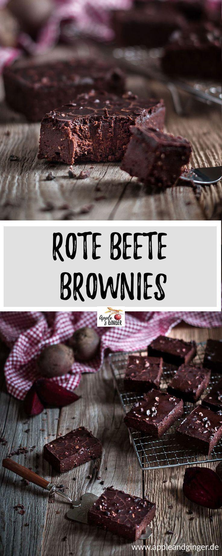 Rote Beete Brownies - -