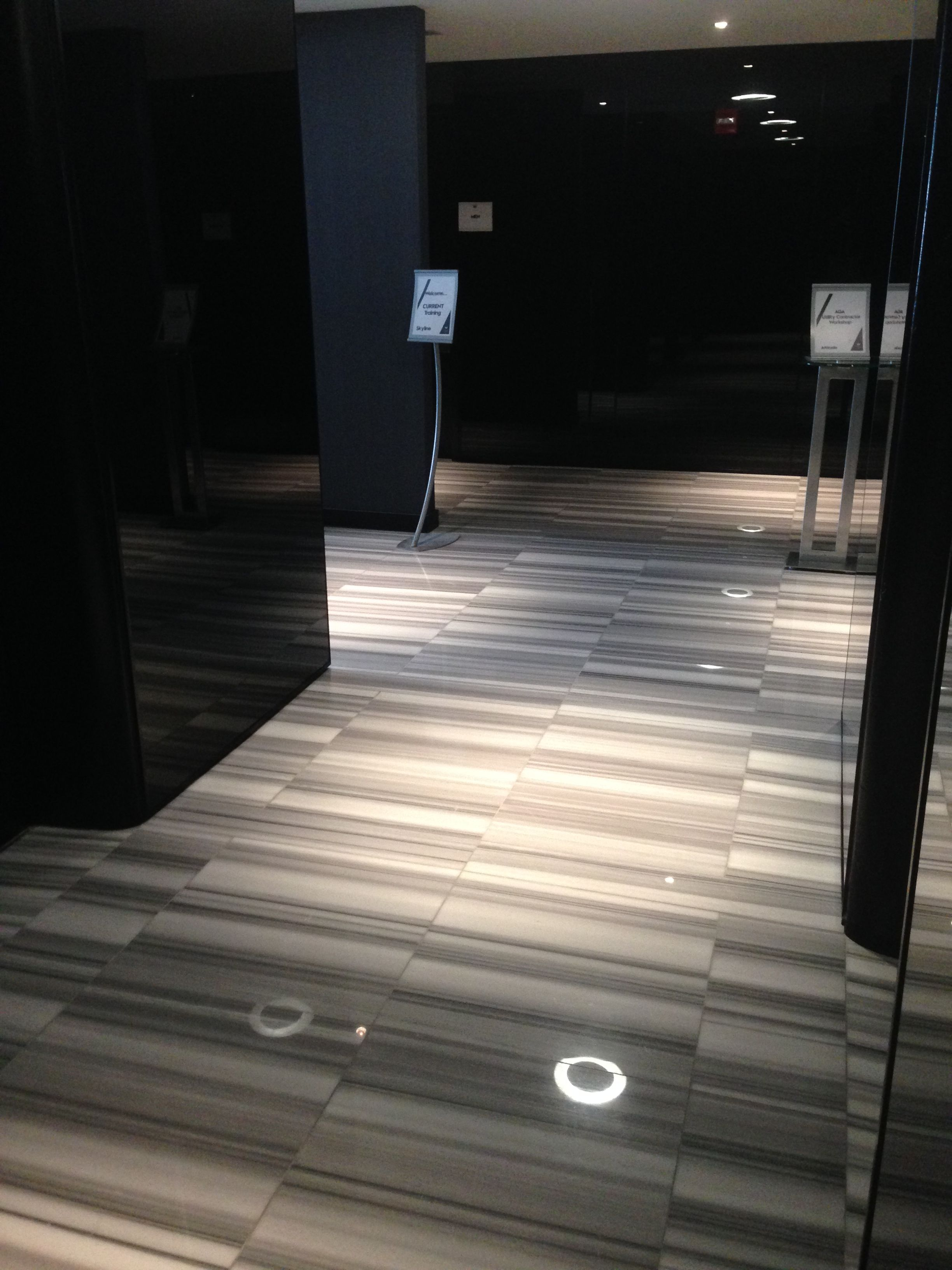 Project Elevator Lobby Area The W Hotel Mat S Rep Carol Kotel Lyne Contractor Ready Tile Adesso Fluid Marble
