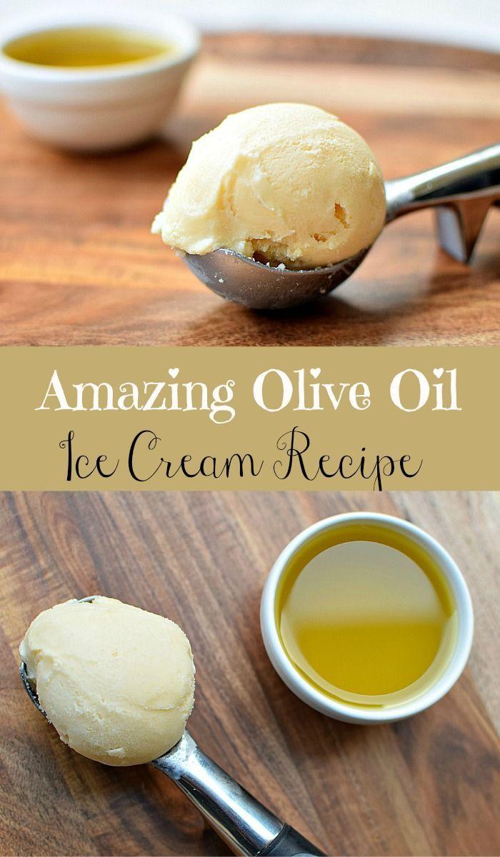Amazing olive oil ice cream. #ketoicecream