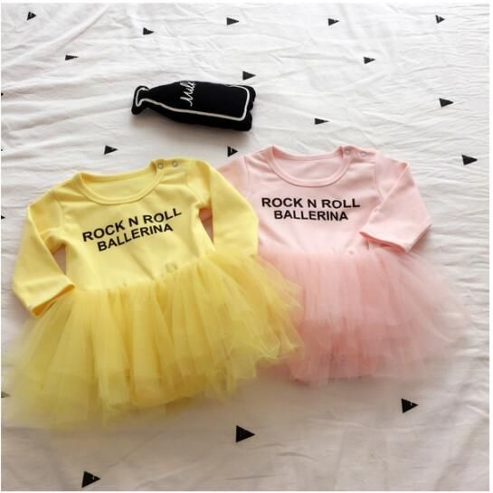 8c32b8365 Newborn Baby Girl Clothing Infant Baby Girl Clothes Rock N Roll ...